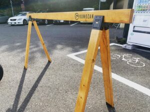 久能山サイクルスタンド設置しました